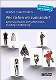Wie stehen wir zueinander?: Systeme aufstellen in Psychotherapie, Coaching und Beratung. 120 Bildkarten mit 20-seitigem Booklet und 10 Aufstellern in stabiler Box, Kartenformat 5,9 x 9,2 cm.