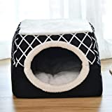 Pet Nest, Dual-Purpose Warm And Soft Sleeping Mattress, Non-Slip Breathable Sleeping Room For Pet Cats And Dogs, Washable Blanket, Clean And Comfortable, Cute And Soft, It Is The Best Choice For Pets