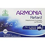 Nathura Armonia Retard - Melatonina Di Purezza Certificata - Astuccio 120 Compresse - 10 Gr