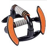 SISHUINIANHUA Staffa con Anti-Slip Schiuma Maniglia Muscolare Expander Busto ABS ad Alta Resistenza di ingegneria delle materie plastiche Staffa Arancione