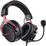 Mpow Air SE Cuffie Gaming 3,5 mm per PS4, PS5,Xbox One, PC, Switch Cuffie Over-ear con Audio Surround con Microfono con Cancellazione de Rumore, Cuffie da Gioco