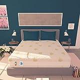 Baldiflex Materasso Matrimoniale Memory Foam 3 Strati Sweet Armony - 190 x 160 x 25 cm - Cuscini Inclusi RIV. Aloe Vera