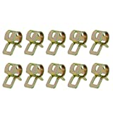 ZZALLL Spring Clip Fuel Line Hose Water Pipe Air Tube Clamps Fastener-8mm