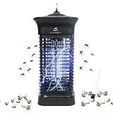 Homesuit Insetticida elettrico, trappola per insetti da 15 W, 4000 V, zanzariera elettrica, efficace per ridurre gli insetti per interni, camera da letto e giardino