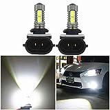 Wljh 2x 6000K bianco auto LED light 881H272835& 3030SMD chip fendinebbia testa lampadina auto veicoli comando coda inversione luci diurne