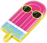 Mondo Toys - Air Mat Jumbo Ice Cream - Materassino d'acqua gonfiabile forma di gelato - ideale per mare, spiaggia, piscina - per adulti e bambini - 78 x 183 cm - 16745