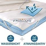 PROCAVE | coprimaterasso impermeabile in diverse misure | Coprimaterasso impermeabile Molton | made in Germany | federe per cuscini | 70x190 cm