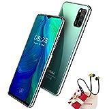 Smartphone Offerta Del Giorno, 6GB RAM 64GB ROM, 6.52'Full Screen, Android 10 Octa Core Cellulare, Batteria 4500mAh, 16MP + 8MP, 4G Dual SIM Face & Fingerprint Unlock Telefoni Mobile (Verde)