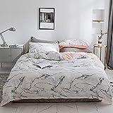 Lenzuola Biancheria per la casa Materasso Comfort in cotone Twin/Queen Size Semplice bianco, grigio, gemello