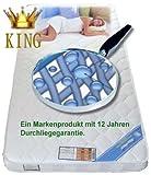 Azienda Knowhow Bayscent King - Materasso in gel espanso, 180 x 200 cm