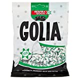 Golia Farfallina Caramelle Gommose Morbide al Gusto di Liquirizia, Busta da 180 g