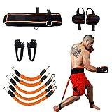 Sunsign di Forza e Agilità Training Strap System Forza di Allenamento Corda per Il Calcio Basket Taekwondo Yoga Boxing Equipment (Arancione)