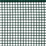 Rete Protettiva in Plastica a Maglia Quadrata per Balconi, Cancelli e Recinzioni, Tenax Quadra 10, Verde, 1,00 x 5 m