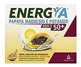 Energya Adulti 50+, Integratore Alimentare con Magnesio, Potassio, Vitamina B2, Integratore Antiossidante, Riduce Stanchezza, 14 Bustine