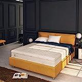 Baldiflex Emporio, Materasso Matrimoniale Memory Plus Top 4 Strati 160 x 190 cm Alto 25 cm, Rivestimento Sfoderabile Silver Safe Cus. Saponetta incl.