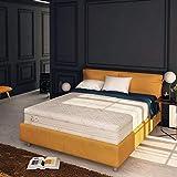Baldiflex , Materasso Matrimoniale Memory Plus Top Fresh 4 Strati 160 x 190 cm Alto 25 cm, Rivestimento Sfoderabile Silver Safe Cus. Saponetta incl.