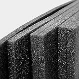 ImballaggiPer® Lastra in Polietilene Espanso PE, Lastra per Proteggere e Separare Oggetti nelle Scatole, Resistente all'Umidità e Agenti Chimici, Colore Nero, Spessore 2 cm, Dimensioni 120 x 200 cm