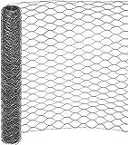 25 mt RETE 25/3 ø 0,8 H 120 cm POLLI ZINCATA RECINZIONE TRIPLICE TORSIONE GALLINE POLLAIO