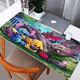 Xx101 Tapis de Bureau Cartoon Gaming Mouse Pad Large Pad Mouse Gamer Gamer Big Mouse Mat Computer Mousepad Gomma Mause Pad Game Keyboard Desk Mat (Color : 2, Size : 300x900x2mm)