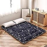 Materasso futon, materasso da pavimento coreano floreale antico, materasso futon giapponese, materasso tatami pieghevole spesso, materasso da campeggio arrotolabile, materasso e materasso per divano