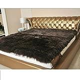 hxxxy 100% Lana Topper,Materasso Letto futon Tatami Bed Ground,Yoga Tappeti-D 200x220cm(79x87inch)