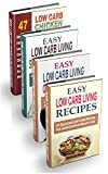 Easy Low Carb Living Cookbook Box Set: 190 Low Carb Recipes: Low Carb Living Recipes, Cast Iron Skillet Recipes, Slow Cooker Recipes And Crockpot Chicken Recipes (English Edition)