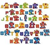 JOYIN 26 Letrabots Alfabeto Lettera Robot Giocattolo per Bambini Letra Bots Educativo Festa di Compleanno Giocattolo per l'Educazione Pre-Scolastica