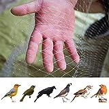 JYCRA Rete per uccelli, 4 m x 10 m, in nylon da giardino, anti uccelli, rete per laghetti, piante e frutti