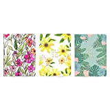 Pack Pocket Journals Spring - 12 x 16 cm - 64 pagine - Trama a pois