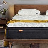 Sweetnight - Materasso 120 x 200 a molle a tonnellate, ortopedico, in gel contro il mal di schiena, durezza 4, altezza 20 cm (120 x 200 x 20 cm)