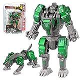 Sanggi Transformable Deluxe Robot, 2 in 1 Robot in Lega Giocattoli, Adatto a Bambini di età Superiore ai 3 Anni