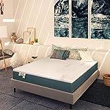 Baldiflex Emporio Materasso Matrimoniale Memory Plus Top Fresh 180x200 cm Alto 25 cm, Fodera Sfoderabile Estate Cooler, Inverno Aloe