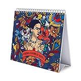 Grupo Erik CS21007 Calendario da Tavolo 2021 Frida Kahlo, calendario da scrivania 2021, 20x18 cm