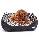 STZLY Pet Letto Pet Supplies Animal Grano Four Seasons Caldo Autentico Pet Dog Kennel Mat, Dimensione: 3XL, 110 × 82 × 20 Centimetri (Ambra) (Color : Amber)