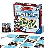 Ravensburger - Memory, Gioco da Tavolo - Tema: Avengers