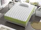 Bellavista Home Materasso Mallorca 16 cm Alto, Memory Foam 90x190x16cm, Comfort dell'hotel, Reversibile, fermezza Media.