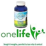 Stress Killer di Life 120 | 90 Compresse Integratore Alimentare contro Stress, Nervosismo e Stanchezza Mentale, Contrasta il Cortisolo | Distributore Esclusivo OneLife
