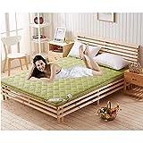 Ispessire materasso tatami traspirante, materassino pieghevole antiscivolo materasso futon materassino tatami, materasso matrimoniale singolo per bambini,J,140x200cm(55x79')