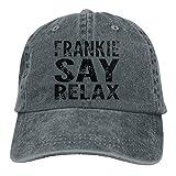 Frankie Say Relax - Cappello da cowboy, unisex, alla moda, stile vintage, regolabile, ad asciugatura rapida, sportivo Rosa violaceo scuro Etichettalia unica