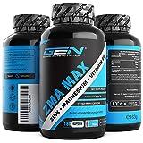 ZMA MAX - 180 Capsule - Altamente dosato - Zinco + Magnesio + Vitamina B6 - Complesso di qualità superiore - Vegan