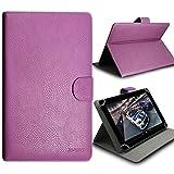 Seluxion-Custodia universale con supporto ribaltabile, per Archos 80b-Supporto tablet Platinum 8 '