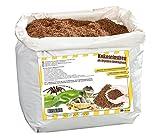 Trucioli di Humus, sostrato terrario Naturale, Terra di Cocco Sfusa, Sacco da 20 l
