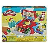 Hasbro Play-Doh - Il Registratore di Cassa Playset con Suoni Divertenti, Accessori e 4 Colori di Pasta da Modellare