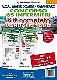 Concorso 65 infermieri A.O.U. Mater Domini Catanzaro. Kit completo Manuale + Quiz