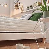 Naturalex | Confort Pedic | Materasso Matrimoniale 160x190 cm Memory e Lattice | Schiuma Memo Sensibile ad Effetto Rigenerante | Struttura Rinforzata Antiaffossamento | Tecnologia Anti-Umiditá