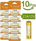Starcell 10pcs 27A 12V A27 MN27 VR27 L828 12V batteria alcalina ad alta capacità 25mAh per telecamere, allarmi antifurto, accendisigari, collare elettronico per cani