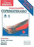 Euroricami Viterbo Coprimaterasso con Cerata Impermeabile per Culla 65 x 125 cm + 15