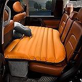 Ruirui-Vagone Letto Gonfiabile Materasso Viaggio Posteriore Auto SUV Auto Tappetini, Orange