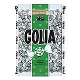 Golia Caramelle Gommose Farfallina, Gusto Liquirizia, Caramella Impacchettata Singolarmente Monopezzi, Confezione da 1000 gr