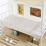 GX&XD Formato Singolo Materasso Ortopedico con Cinghie Elastiche Sottile Soft Futon Tatami Pieghevole Tappeti Portatile Dormire Pad per Camera dormitorio-F 90x200cm(35x79inch)